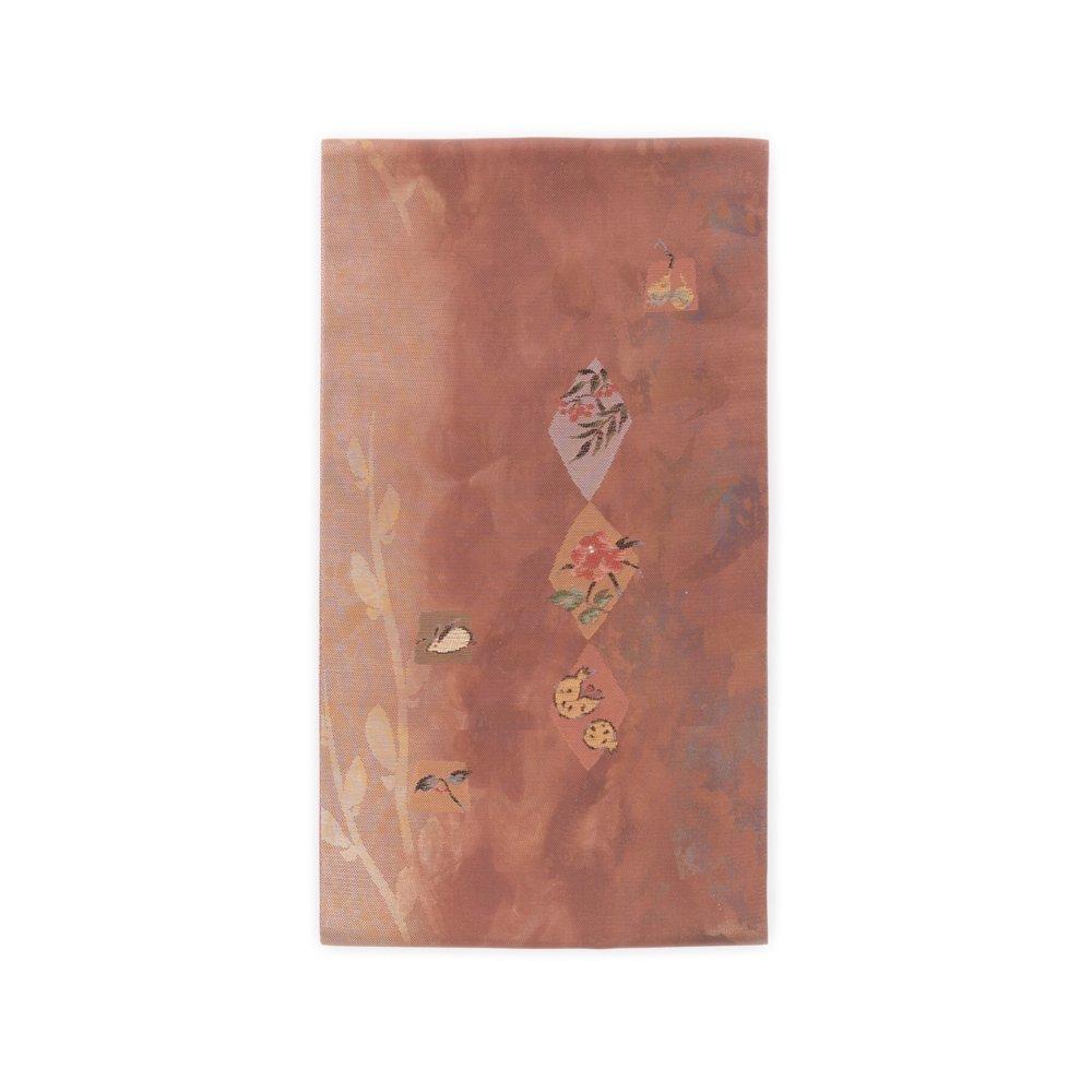 「洒落袋帯●雪兎 柘榴 南天など」の商品画像