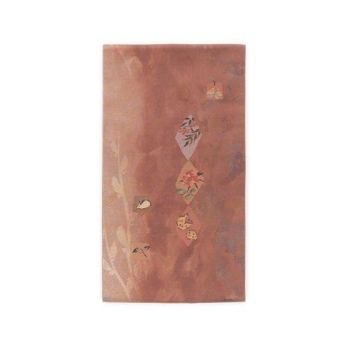 洒落袋帯●雪兎 柘榴 南天などのサムネイル画像