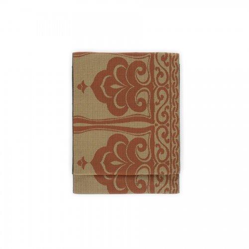 八寸名古屋帯 松ぼっくりのような柄のサムネイル画像