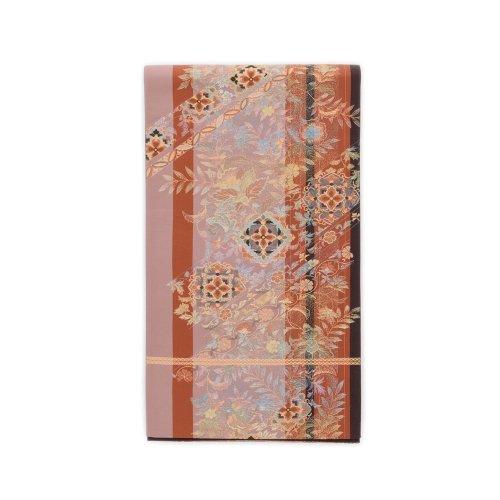 袋帯●ダークピンク 華紋のサムネイル画像