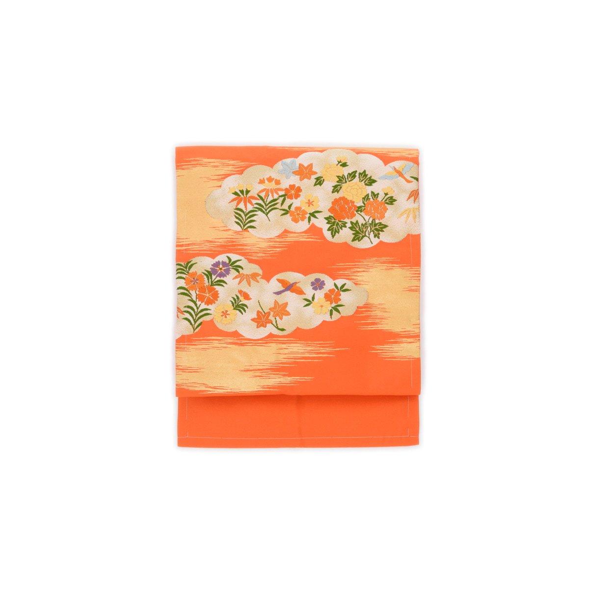 「セミアンティーク 雲取りに鳥と花」の商品画像