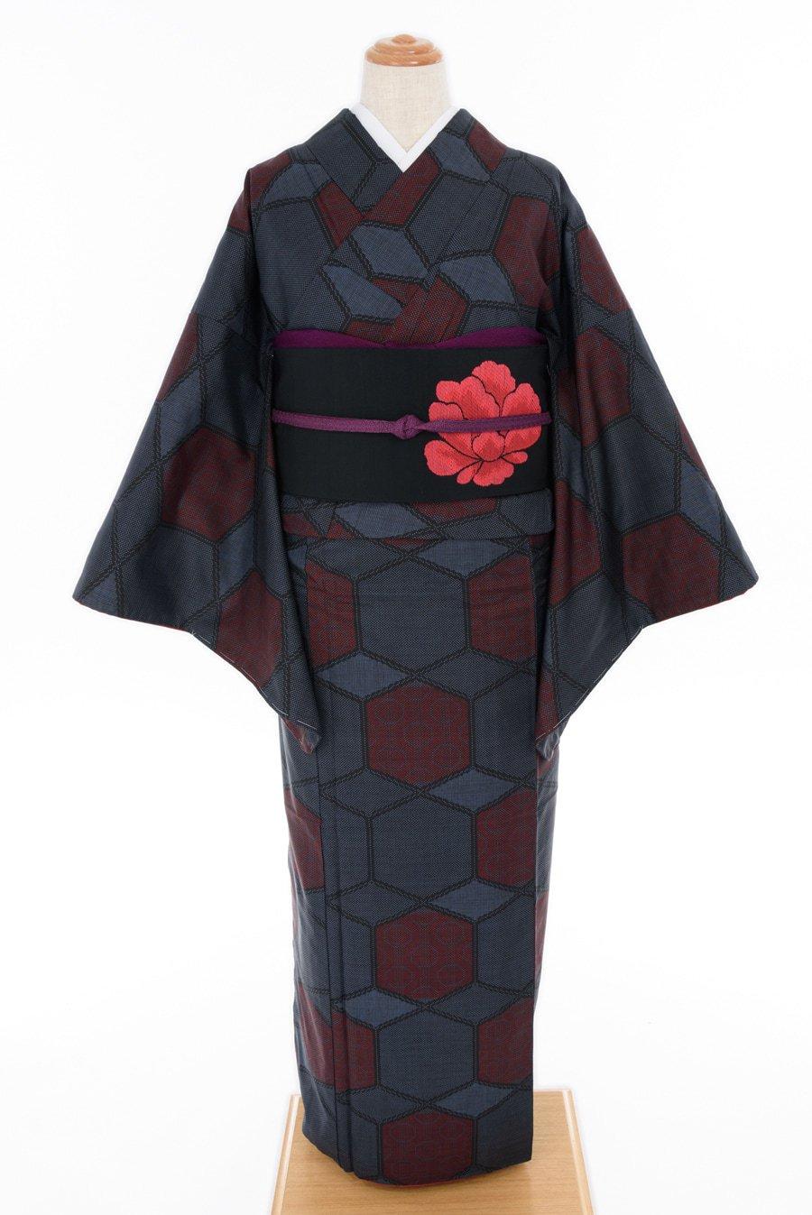 「大島紬 亀甲」の商品画像