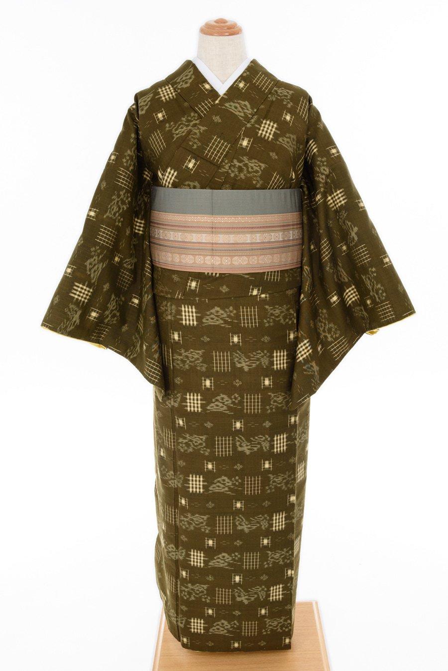 「紬 松と蝶々」の商品画像