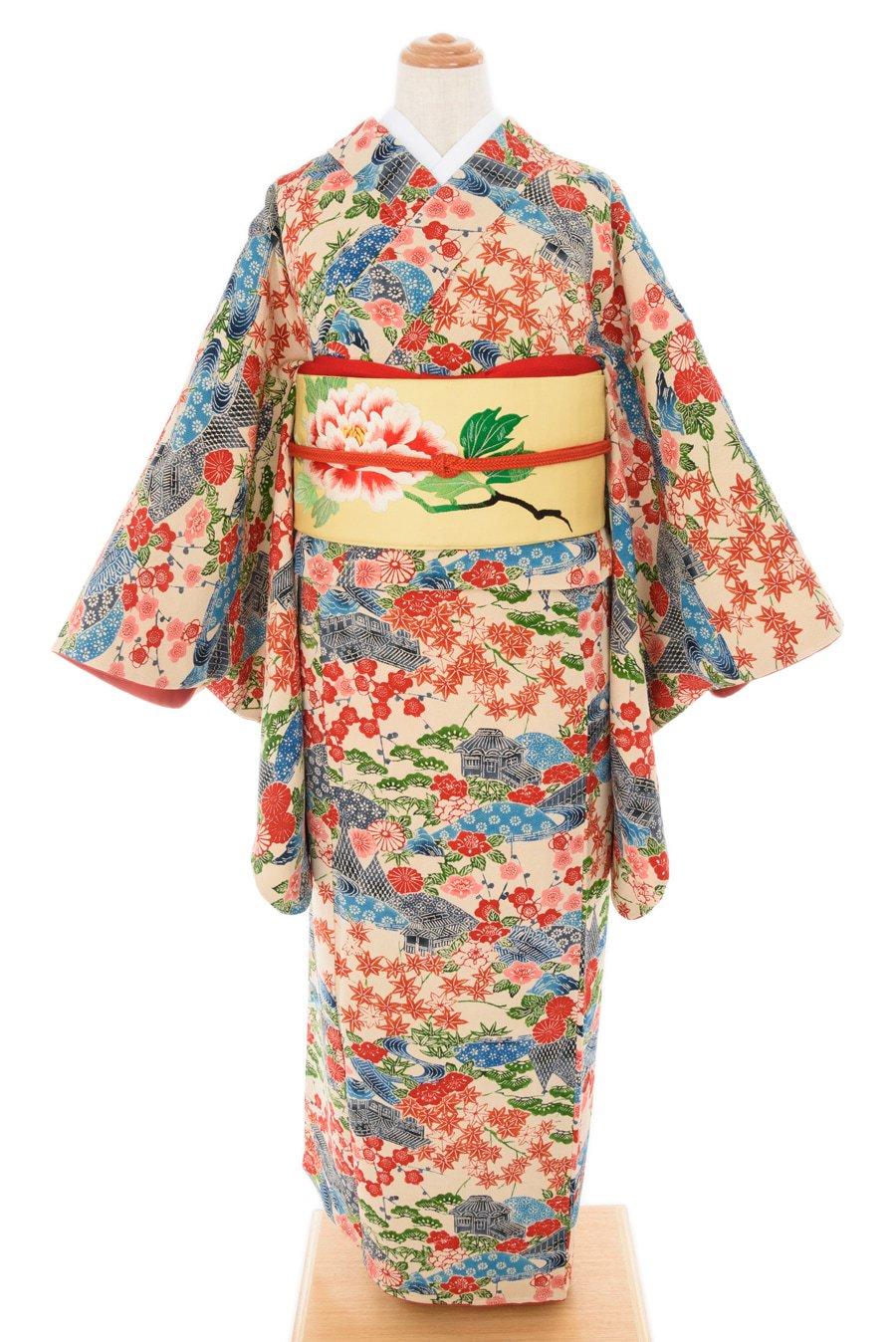 「紅型調 茶屋辻 四季の花」の商品画像