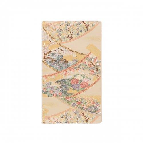 袋帯●花模様反物