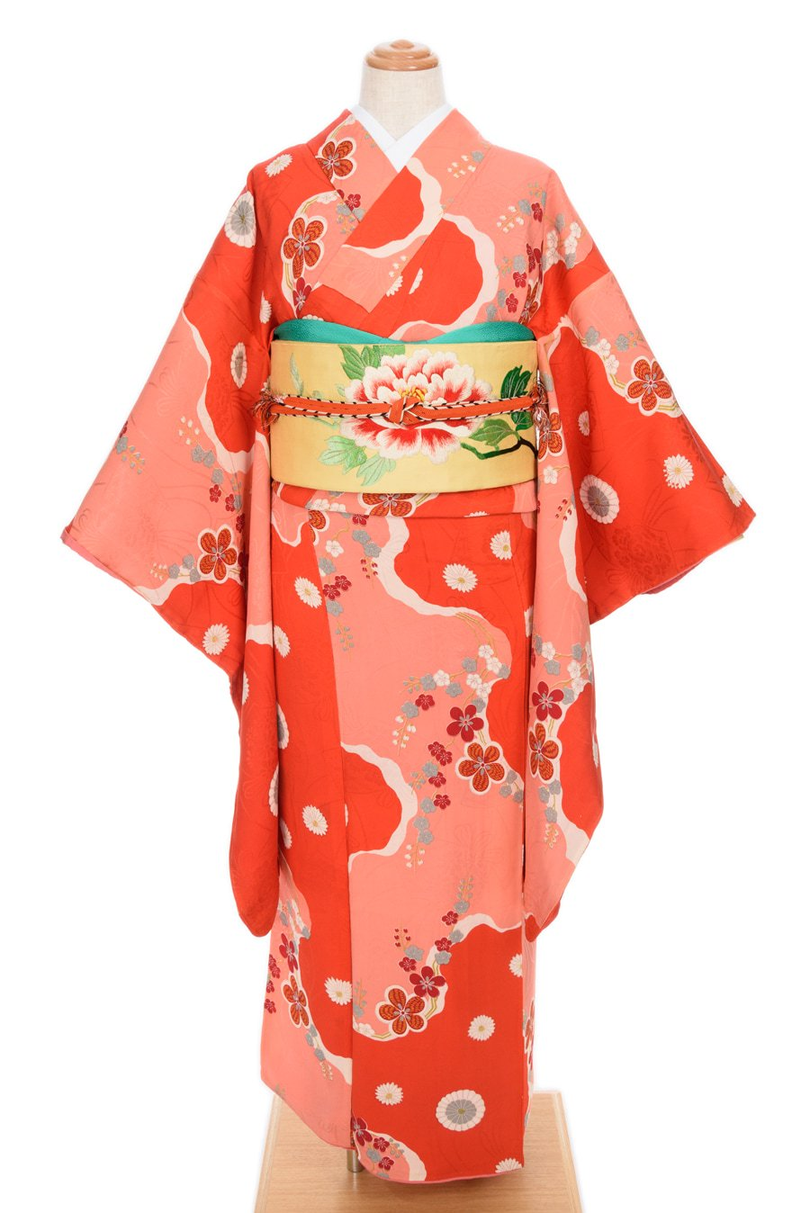 「アンティーク 道長取りに梅と菊」の商品画像