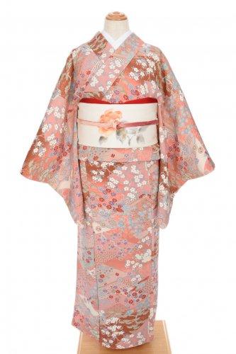 縮緬 桜や菊 揚羽と鶴のサムネイル画像