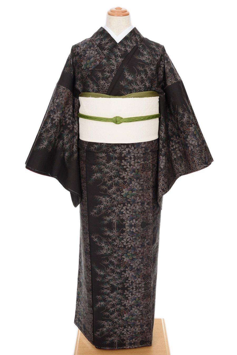 「大島紬 萩と楓」の商品画像