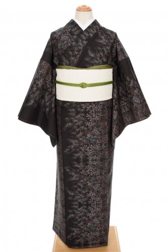 大島紬 萩と楓のサムネイル画像