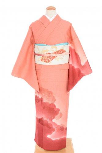 単衣●紬 付け下げ 透かし織りのサムネイル画像