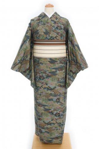 単衣●紬 里山の風景のサムネイル画像