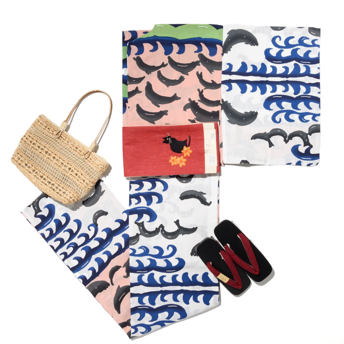 「新品浴衣 tsumori chisato イルカ」の商品画像