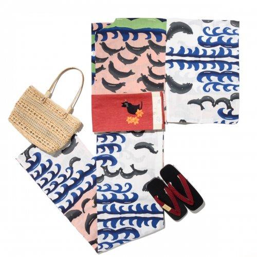 新品浴衣 tsumori chisato イルカのサムネイル画像