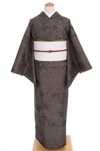 大島紬 花と蔓