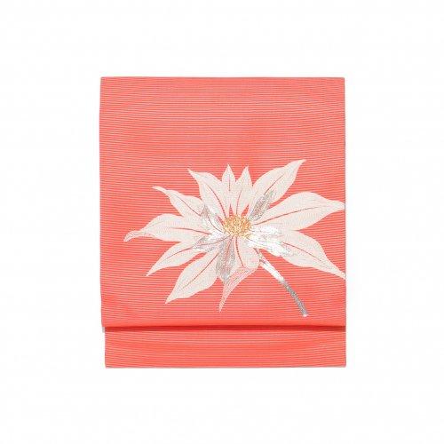 夏帯●大きな花の刺繍のサムネイル画像