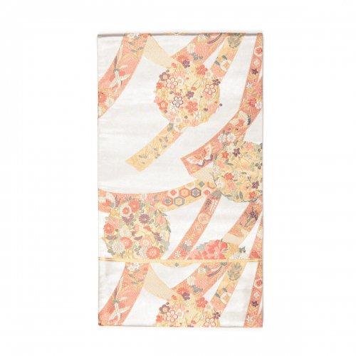袋帯●花丸に熨斗目のサムネイル画像