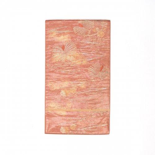 袋帯●松葉と松ぼっくりのサムネイル画像
