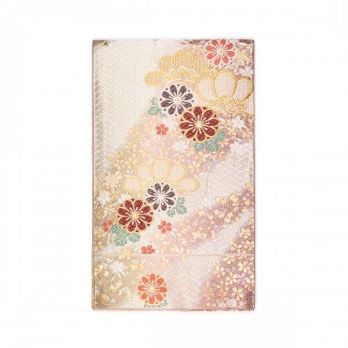 袋帯●菊・松・桜 金紙吹雪のサムネイル画像