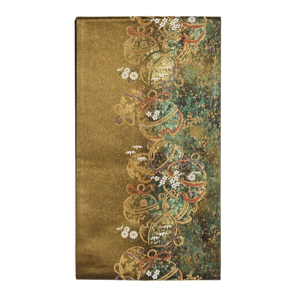 「袋帯●鈴に花」の商品画像