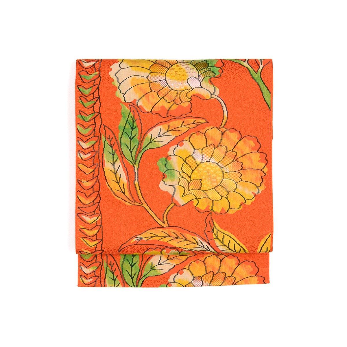 「向日葵カラーの大きな花」の商品画像