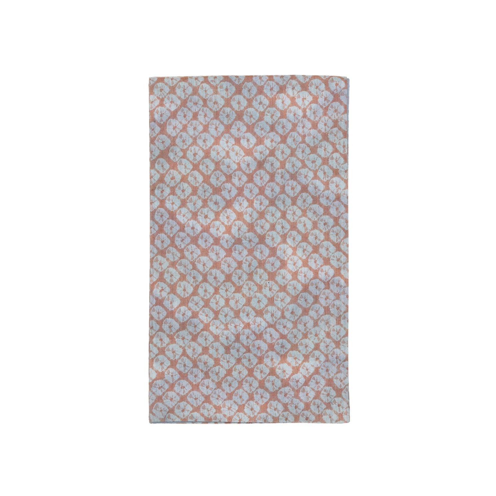 「洒落袋帯●紬に蜘蛛絞り」の商品画像