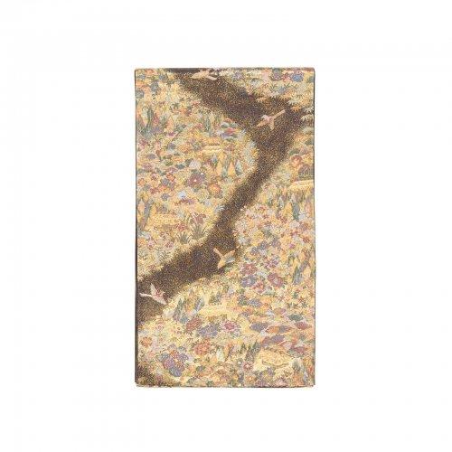 金霞に木々と家のサムネイル画像