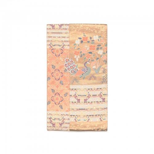 袋帯●木の下の孔雀のサムネイル画像