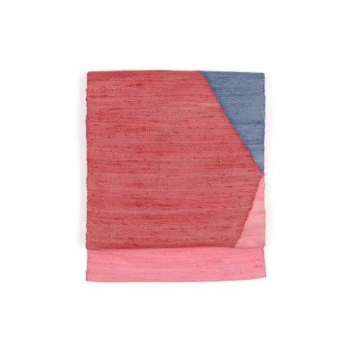 紬 積み木のような幾何学柄のサムネイル画像
