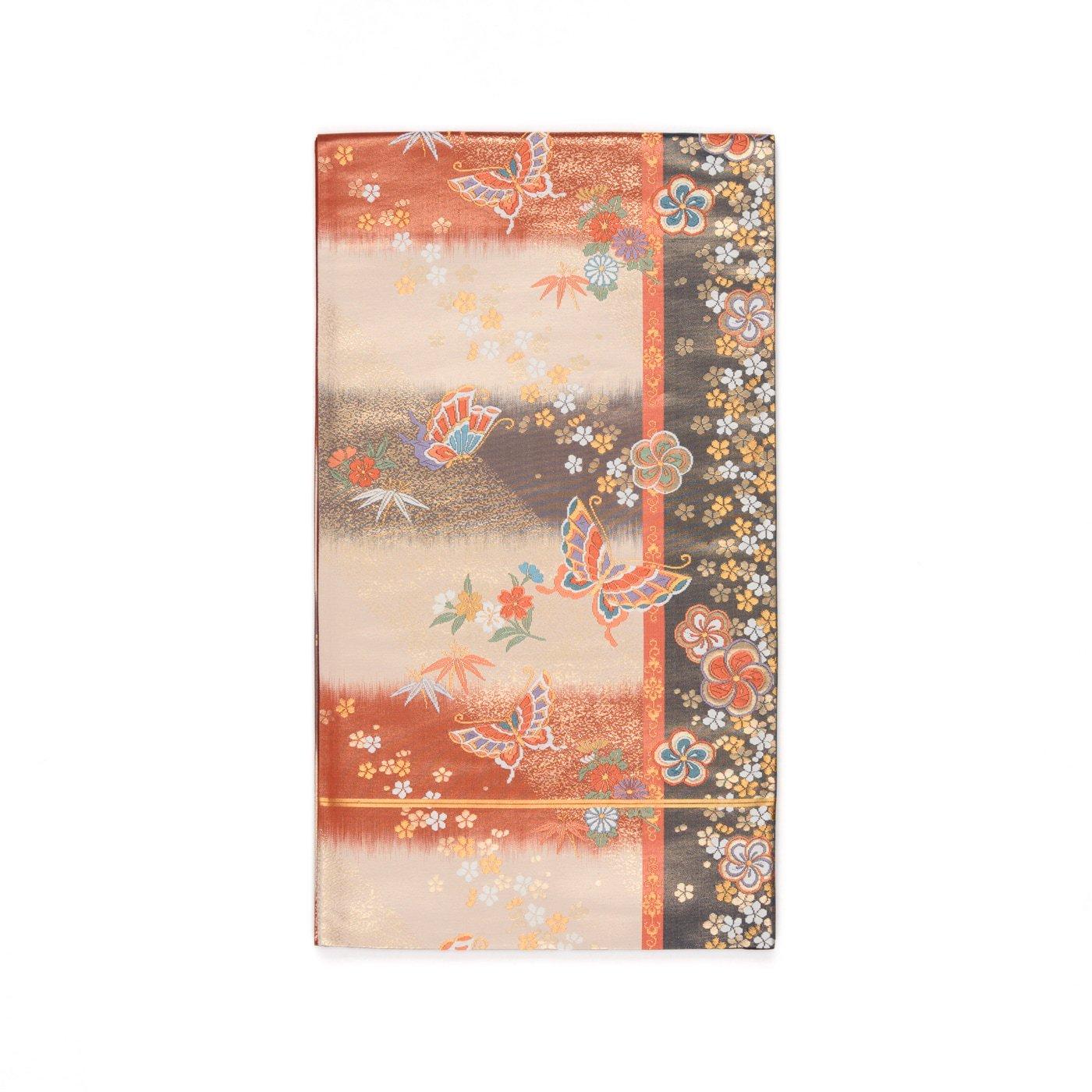 「袋帯●花と蝶」の商品画像
