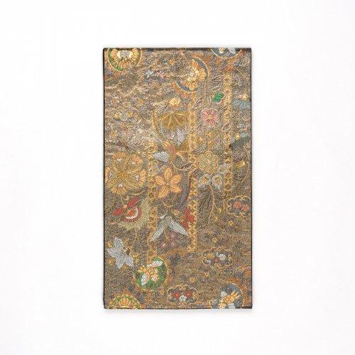袋帯●黒金地に唐花と鳳凰のサムネイル画像