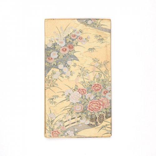 袋帯●牡丹や菊などの花車のサムネイル画像
