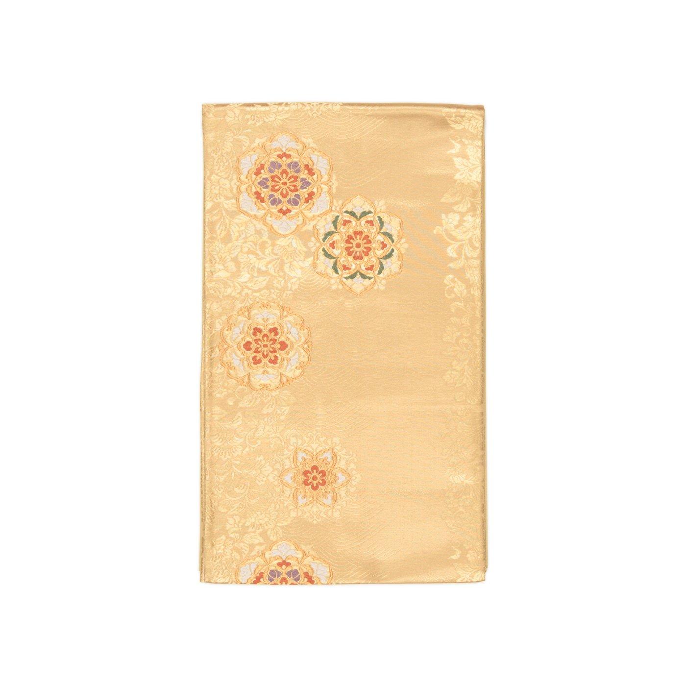 「袋帯●唐花と波に華紋」の商品画像