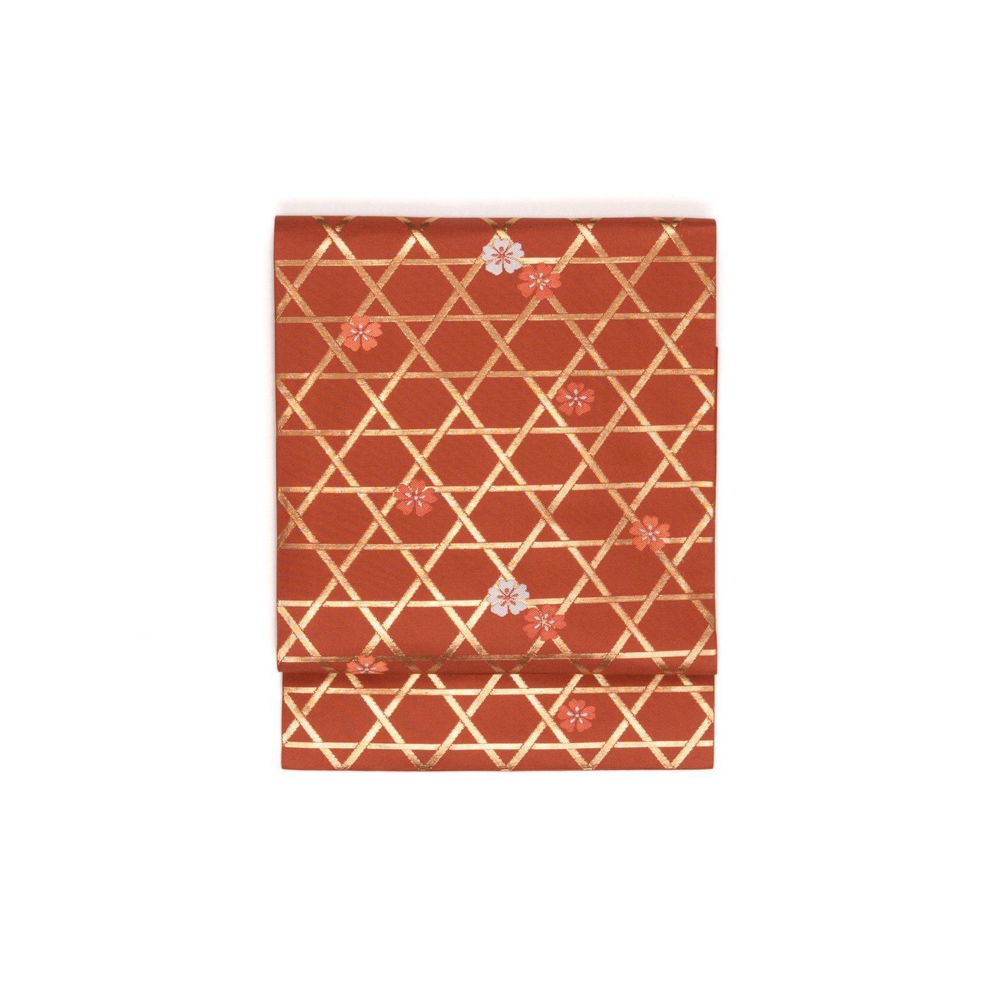 「金の籠目に桜散らし」の商品画像