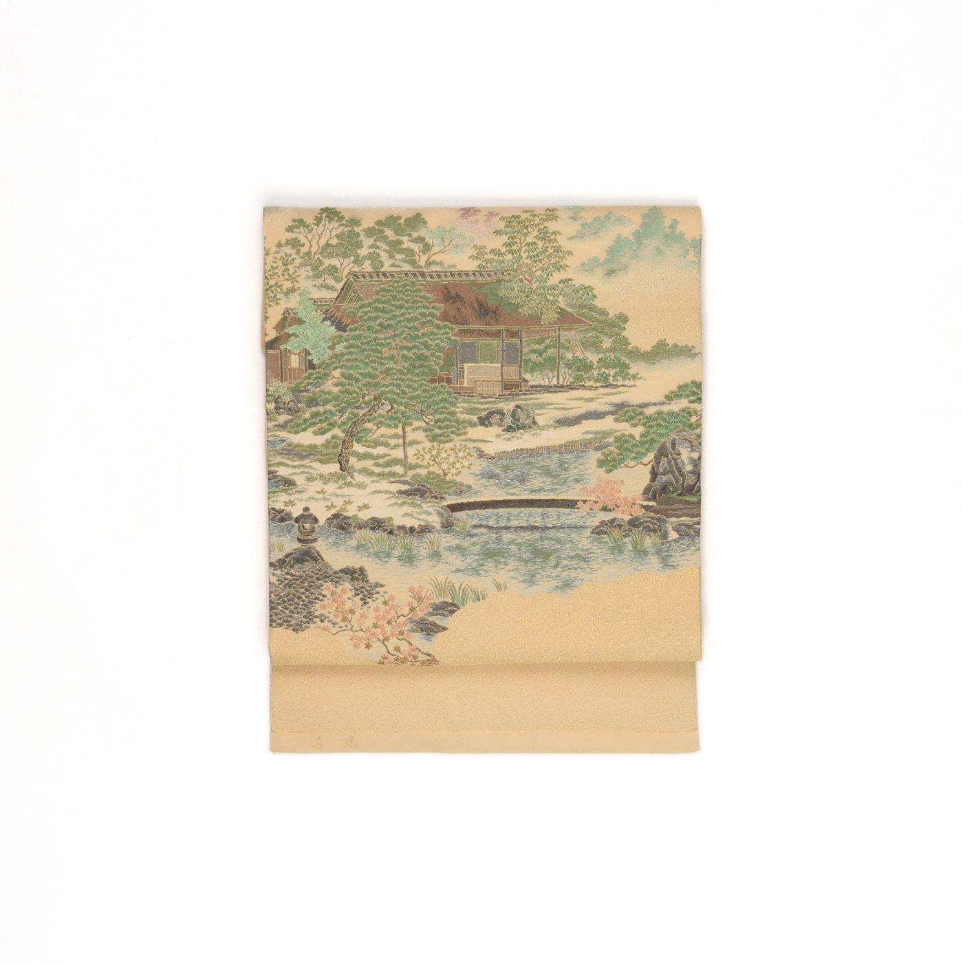 「日本庭園と庵」の商品画像
