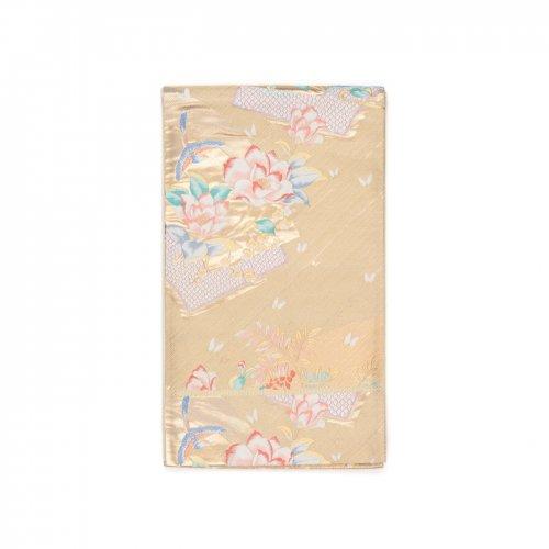 袋帯●扇面に花と鳥のサムネイル画像