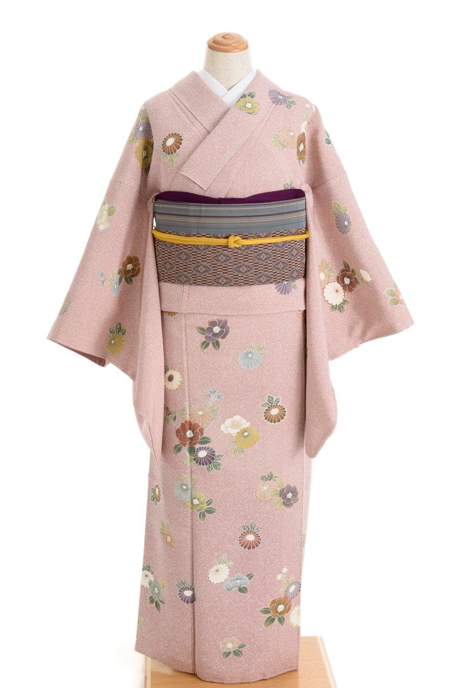 「付け下げ 菊と椿」の商品画像