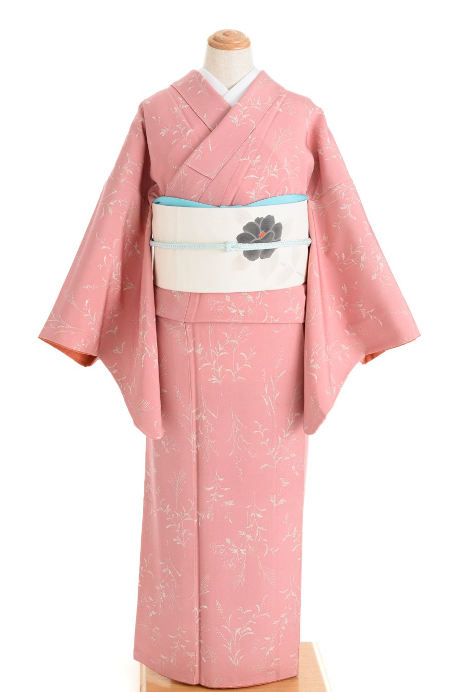 「ピンク色地 ススキ」の商品画像