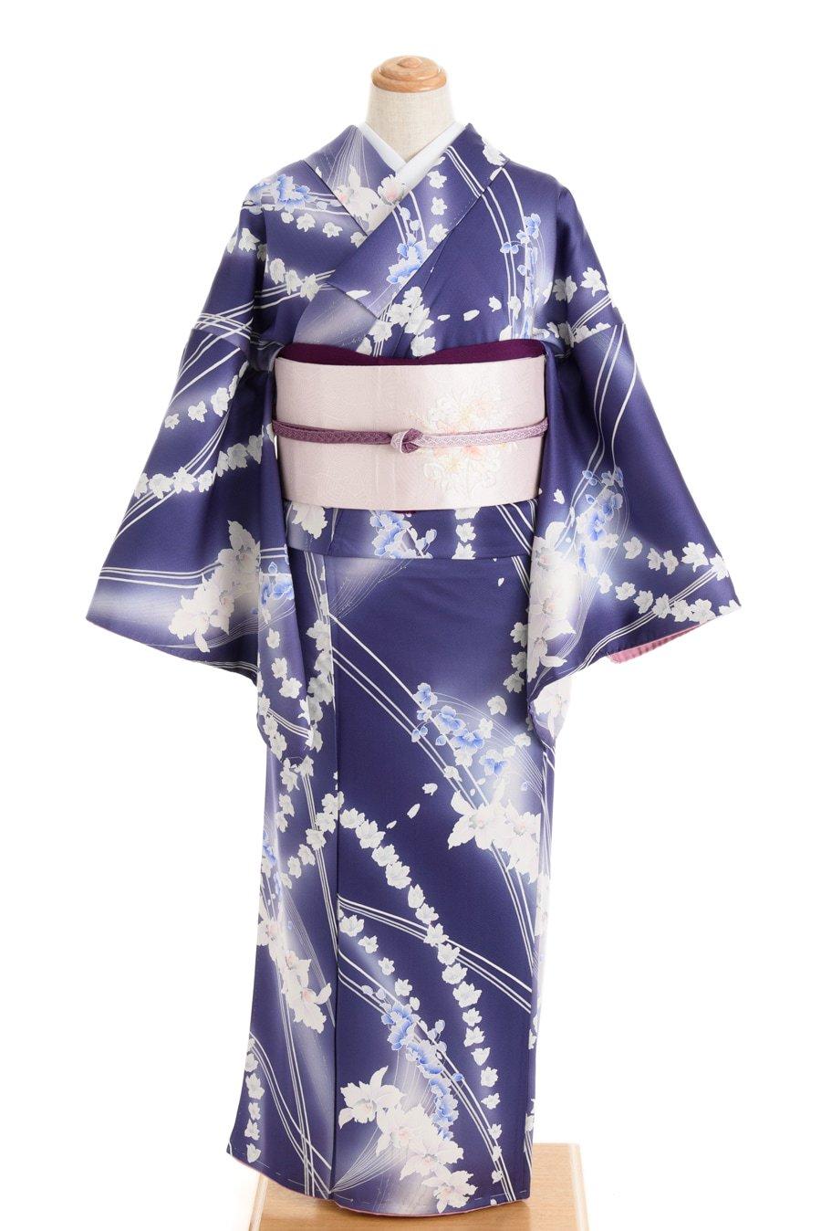「菫色暈し 洋花繋ぎ」の商品画像
