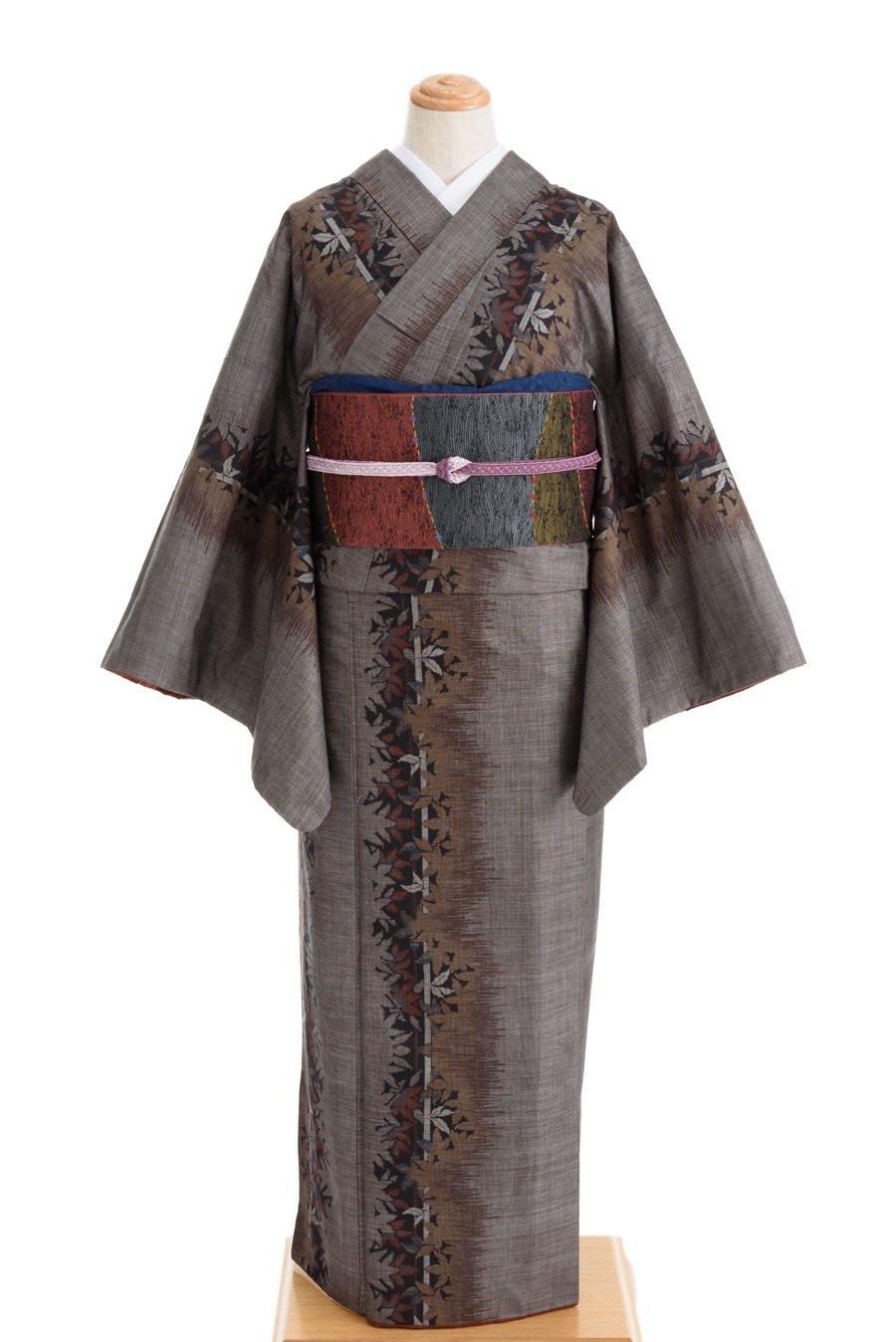 「大島紬 木々の影」の商品画像