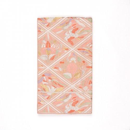 袋帯●菱に向かい鳳凰 菊 桐などのサムネイル画像