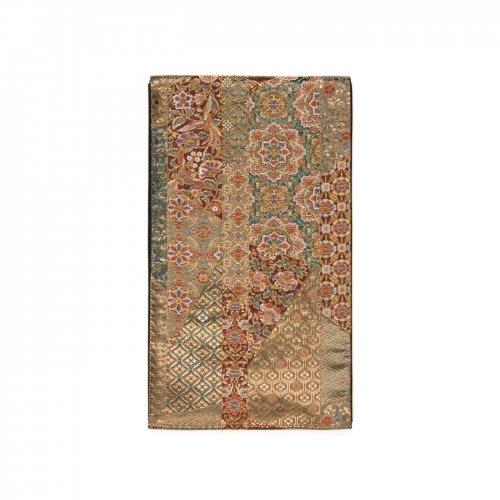 袋帯●鳳凰に唐花 重厚感ある華紋などのサムネイル画像