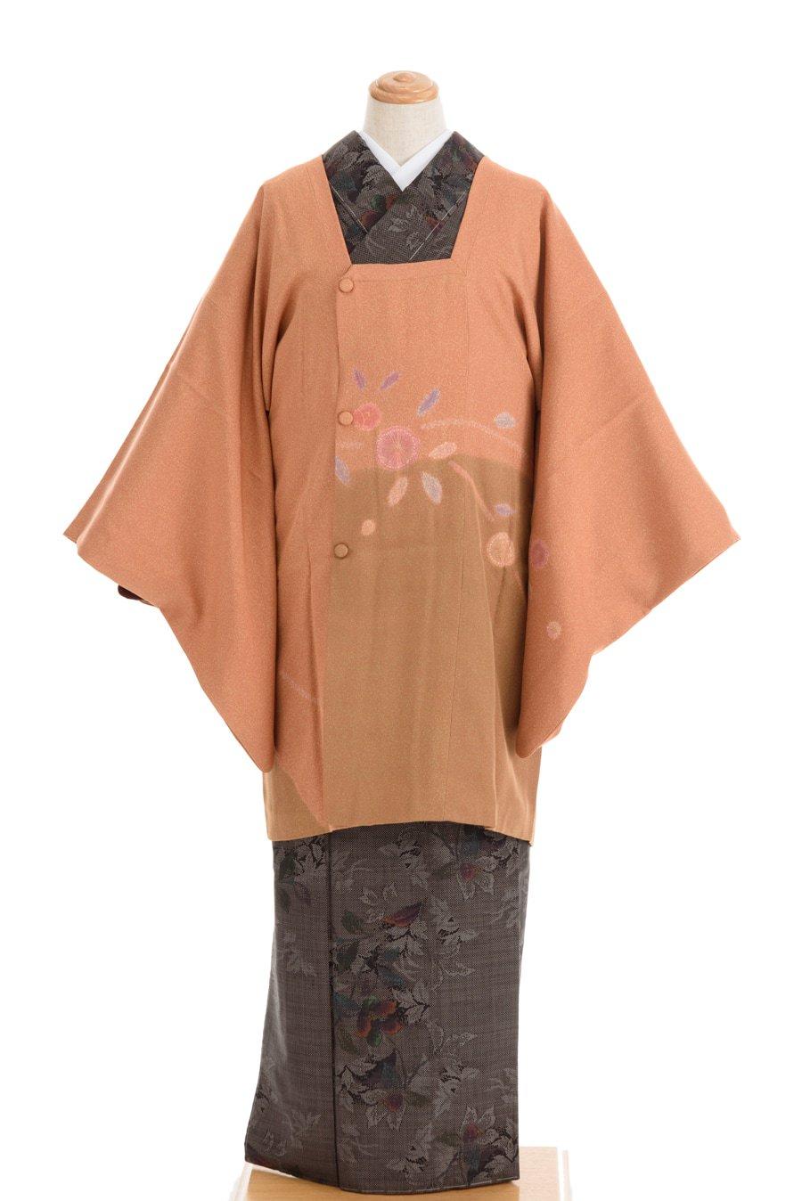 「道行コート 絵羽 ツートンカラー」の商品画像