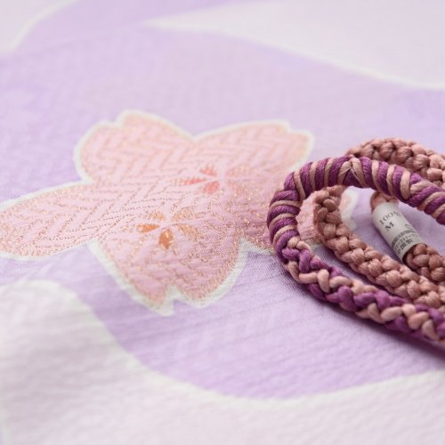 帯揚げ帯締めセット 大小桜のサムネイル画像