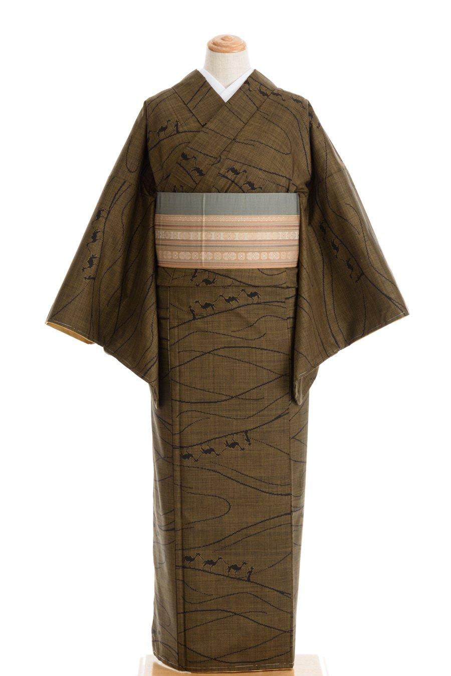 「大島紬 シルクロードのラクダ」の商品画像