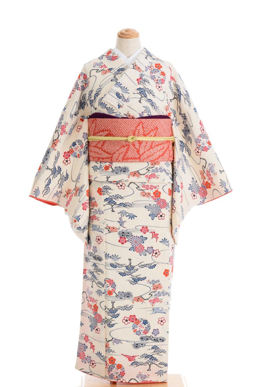 「菊・松・桜に鳥 梅の丸」の商品画像