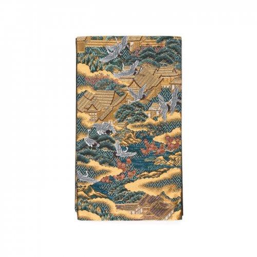 袋帯●金霞に舞う鶴のサムネイル画像