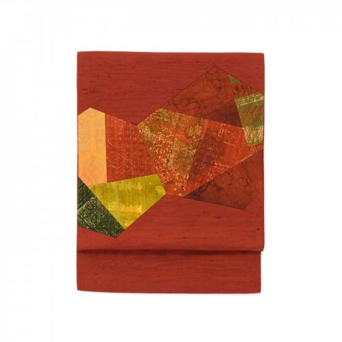 臙脂色 切り嵌めのサムネイル画像