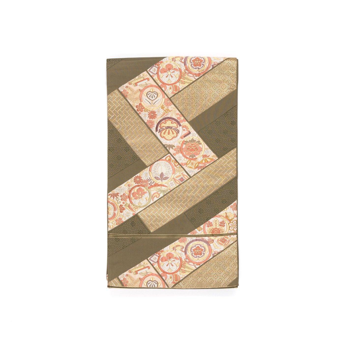 「袋帯●桧垣に丸紋」の商品画像