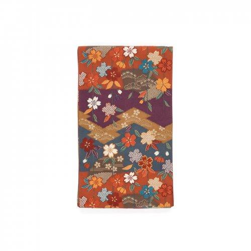洒落袋帯●松皮菱取りに枝垂れ桜のサムネイル画像
