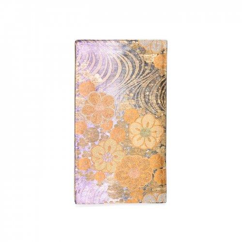 袋帯●金流水に八重梅のサムネイル画像